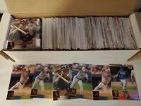 2001 Upper Deck Baseball Set Builder Baseball Cards 400+ Cards