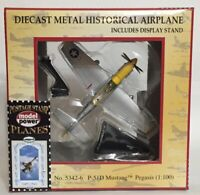 New Grumman Postage Stamp Planes P-51D Mustang Die Cast Power Model Pegasis 5342