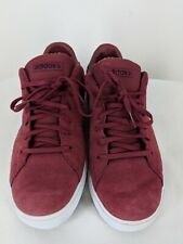 adidas NEO Mens sz 12 Daily Clean Skateboarding Shoes red pre-owned with box