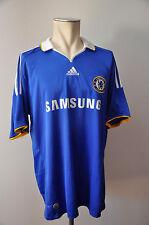 2008-09 Chelsea London MAGLIA TAGLIA XL ADIDAS JERSEY Samsung CFC HOME FC Samsung