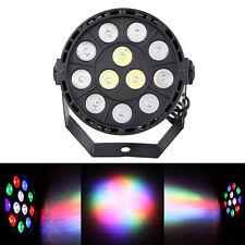 18X15W RGB 12 DJ Par LED Light Stage Lighting Party Club Bar  3 Pin XLR Black #A