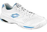 WOMEN'S LOTTO ARIEL TENNIS SHOES (WHITE/BLUE) NEW IN BOX  N8220