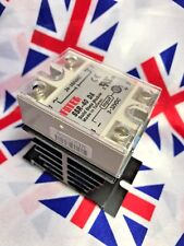 ⭐ ⭐ SSR-40DA 40A SSR Solid State Relay With Aluminium Heat Sink And Top Cover ⭐