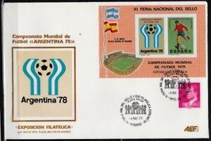 Soccer 1978 D13 cover Spain World Cup Emblem