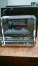 Royal Caribbean Crystal Block Mariner Of The Seas Mint In Box