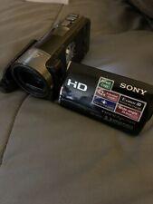 Sony HandyCam HDR CX130 Video Camera, Camcorder - Black