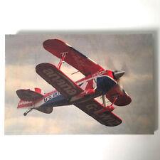 Holzbild Flugzeug Pitts S2s privat klein