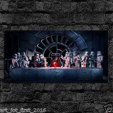 Oil Painting HD Print Wall Art on Canvas Darth Vader Emperor Stormtrooper 20x40