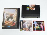 FATAL FURY 3 Garou Densetsu SNK Neo Geo AES Video Game