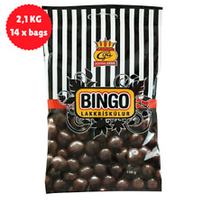 2 kg - Bingo Balls - Dark chocolate and licorice 150gr - Icelandic Chocolate