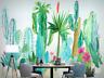 3D Bunter Kaktus M2058 Tapete Wandbild Selbstklebend Abnehmbare Aufkleber Amy