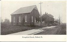 Evangelical Church in Telford PA Postcard