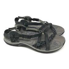 Merrell Womens Jacardia Sport Sandals Black Flat Heel Leather Buckle J57598 6