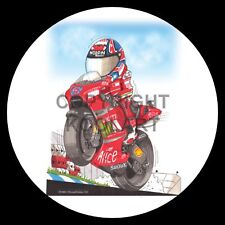 Koolart 4x4 4 x 4 Spare Wheel Graphic Moto Gp Casey Stoner Sticker 2347