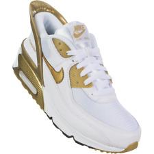 Nike Air Max 90 Flyease White Gold Men Women Youth Shoes CV0526-100G CU0814-100