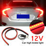 Universal Car 144 LED High Mount Level Third 3RD Brake Stop Rear Tail Light 12V