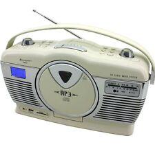 Soundmaster RCD1350BE Retro CD/MP3/USB Radio in  Farbe:Creme