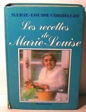 """livre cuisine """"Les recettes de Marie-Louise"""" Cordillot Flammarion 1982 -990pages"""