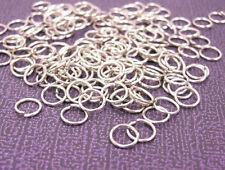 100pcs nickel look 7mm jump rings-8943