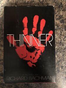Thinner, Stephen King/Richard Bachman, Book Club Edition Hardcover