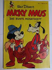 Micky Maus, Das Bunte Monatsheft, Nr.2 Feb.1952 Ehapa Reprint, super Zustand