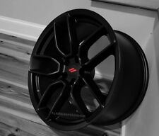Dodge Hellcat Widebody Satin Black Wheels SET 20x9.5/20x10.5  Challenger Charger