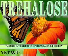 trehalose, 12oz pure product for sustained energy. $4.35