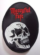 MERCYFUL FATE  OVAL EMBROIDERED PATCH