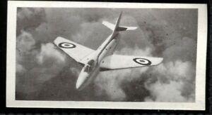 Tobacco Card, Osborne, MODERN AIRCRAFT Brown, 1952, Hawker Hunter, #40