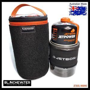 Jetboil MINIMO and 230g Canister Clear Top Bootliner Bag Black / Orange