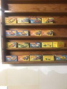 Vintage Lot Of 18 Empty Matchbox Boxes. Original