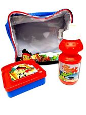 Disney Jake & The Never Land Pirates 3 piece Lunch Bag Lunch box and bottle set