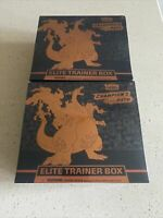 Pokemon TCG Champion's Path Elite Trainer Box 10 Booster Packs In Hand Lot Of 2