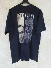 T-shirt JEAN-JACQUES GOLDMAN Tournée 98 dates EN PASSANT noir XL