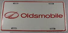 OLDSMOBILE METAL LICENSE PLATE OLDS LOGO SIGN L292