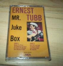 Ernest Tubb Mr Juke Box Cassette Sealed