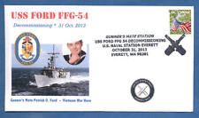 GREYTCOVERS NAVAL COVER USS FORD FFG-54 DECOMMISSIONING  31 OCT 2013