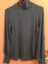 Tee-shirt Manche Longue - Bleu Canard - ETAM - Taille 36
