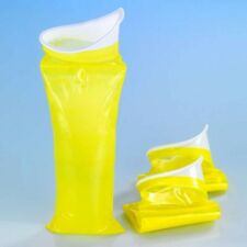 2 X WENKO Reisetoilette Urinieren Urin Gel Urinal Camping Reise Toilette Beutel