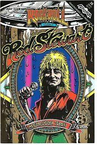 "Rock N'  Roll Comics #38 (1991)  NM 1st Printing  ""Rod Stewart""  Sanford"