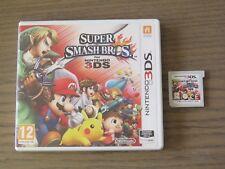 JEU NINTENDO 3DS SUPER SMASH BROS FOR NINTENDO 3DS MARIO COMPLET EN FRANCAIS