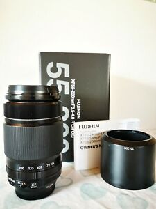 Mint Condition FujiFilm XF 55-200mm F3.5-4.8 R LM OIS Lens