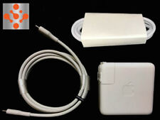 Genuine OEM APPLE A1719 87W USB-C Power Adapter Charger For Macbook Pro + EXT