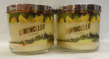 2 Limencello Scented Candle Bath & Body Works 14.5 Oz