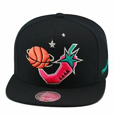 Mitchell & Ness NBA All Star Game 1996 Snapback Hat BLACK/Pink Pepper/BLACK BOT