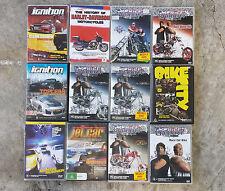 American Chopper x 6 + Ignition x 2 +  Car and Motor Bike Bulk Lot DVDS
