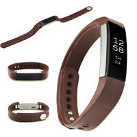HOT Replacement Classic Leather Band Strap Wristband Bracelet For Fitbit Alta