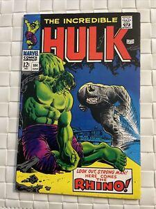 Incredible Hulk # 104 - Hulk vs. Rhino