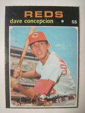 1971 TOPPS OPC O-PEE-CHEE #14 DAVE CONCEPCION CINCINNATI REDS BASEBALL RC CARD