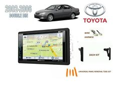 2002-2006 TOYOTA CAMRY CAR STEREO KIT, SIRIUS XM READY TOUCHSCREEN GPS NAV